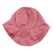 Roza poletni klobuček z UV zaščito (0-1 leto)