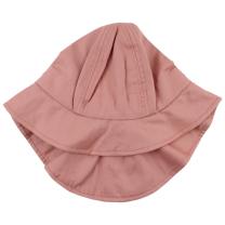 Vijoličen poletni klobuček z UV zaščito (1-2 leti)