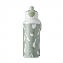 Zelena otroška steklenička MALA GOSKA (400 ml), Little Dutch