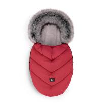 Rdeča zimska vreča MINI Moose YUKON, 84x50 cm, Cottonmoose