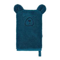 Modra rokavica za umivanje PANDA