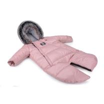 Roza pajac - zimska vreča Moose YUKON (0-6 m), Cottonmoose
