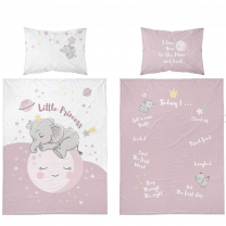 Roza posteljnina za fotografiranje SLON 120x90 cm