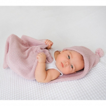 Roza spalna vreča za dojenčke Lullalove