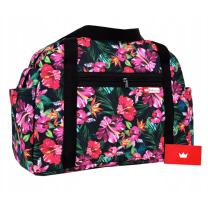 Previjalna torba Candyflex - TROPICAL FLOWERS, BabyLux