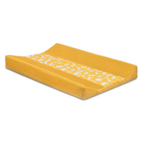 Mustard rumena PREVLEKA za previjalno blazino SAFARI 50x70 cm, Jollein®
