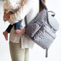 SIVA previjalna torba-nahrbtnik Walking Mum ZVEZDICE