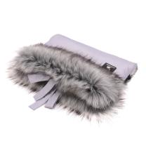 Svetlo siva muf rokavica