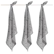 Siva tetra plenica PIKE (70X70 cm) – 3 kosi, Jollein®