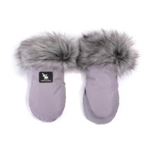 Sive rokavice za voziček