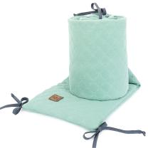 MINT obroba za posteljico, MUSLIN (180x30 cm), MAMO-TATO