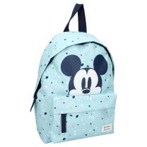 Svetlo moder otroški nahrbtnik Mickey Mouse, We meet again, Disney