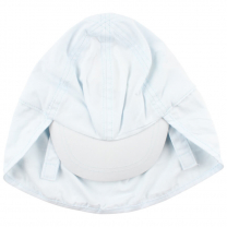 Svetlo moder klobuček - kapa s šiltom, UV zaščita