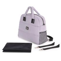 SVETLO SIVA torba za voziček - nahrbtnik MOOSE, Cottonmoose