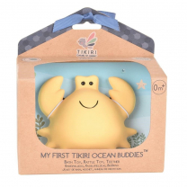 Gumena grickalica za bebe sa zvečkom RAK (0m+), TIKIRI