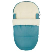 JEANS TIRKIZNA ovalna zimska vreća 95 cm - 90% ovčja vuna