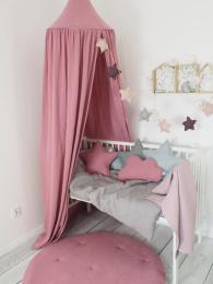 Umazano roza baldahin