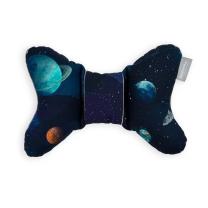 MELANGE MODER potovalni vzglavnik metuljček TEMNO MODER galaxy, Beztroska