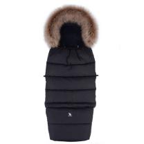 Črna zimska vreča COMBI 3v1 YUCON 116x49 cm, Cottonmoose