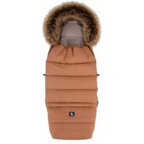Karamel rjava zimska vreča COMBI 3v1 YUKON 116x49 cm, Cottonmoose