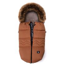 Karamel rjava zimska vreča Moose YUKON North, 108x50 cm, Cottonmoose