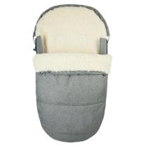 JEANS SIVA ovalna zimska vreća 95 cm - 90% ovčja vuna