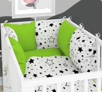 posteljnina z obrobo iz blazin