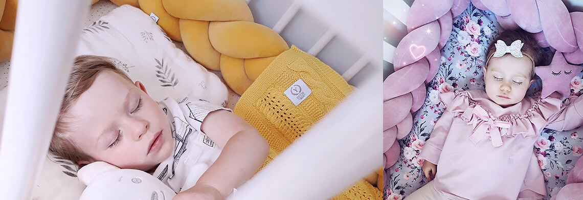 pletenica za dječji krevetić